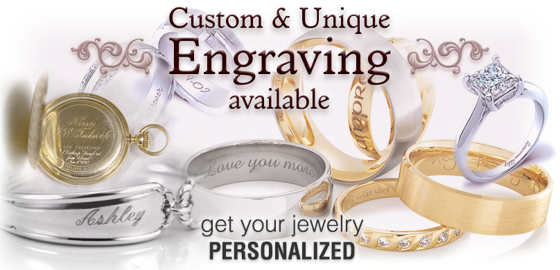 Engraving Services From Gold Diamond Outlet